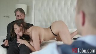 My husband made me try a new dick – Cuckold Bella Rolland
